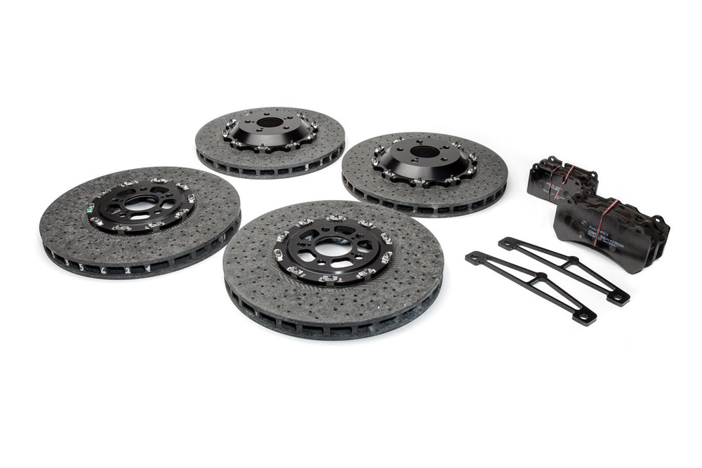 TITAN MOTORSPORTS R35 NISSAN GTR CARBON CERAMIC BRAKE KIT
