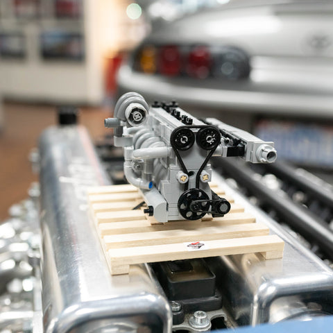Build It Yourself Titan Lego 2JZ