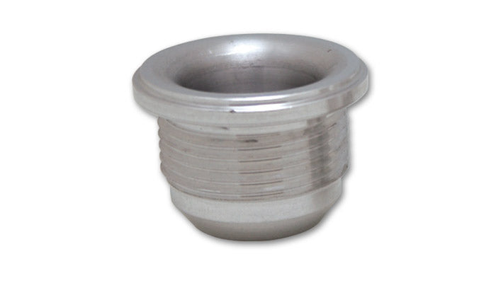 Male -12AN Aluminum Weld Bung (1-1/16-12 SAE Thread; 1-3/8in Flange OD)
