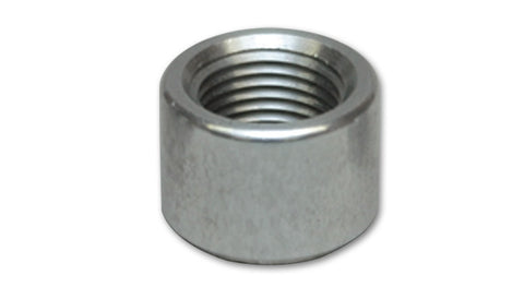 '-6 AN Female Weld Bung (9/16in -18 Thread) - Mild Steel