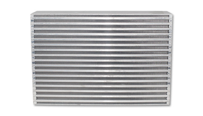 Air-to-Air Intercooler Core; Core Size: 25inW x 11.8inH x 3.5inThick