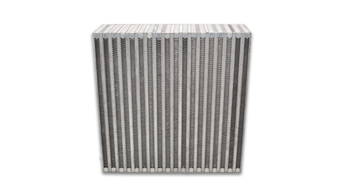 Vertical Flow Intercooler Core; 6inW x 11.80inH x 3inThick