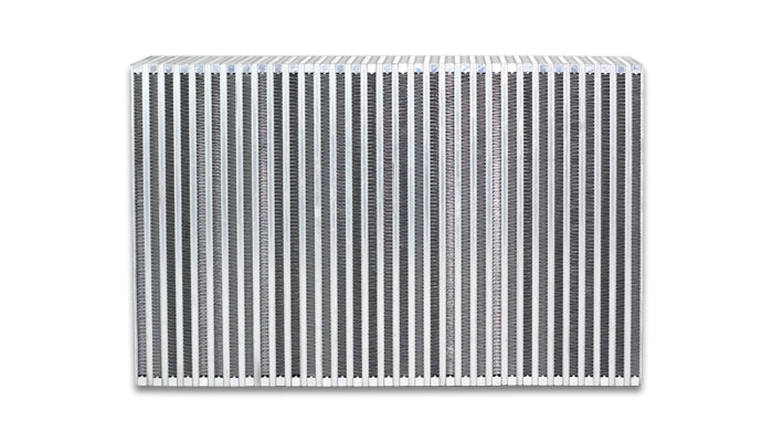 Vertical Flow Intercooler; 22inW x 14inH x 4.5inThick