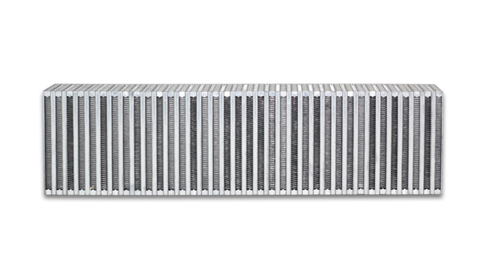Vertical Flow Intercooler; 24inW x 6inH x 3.5inThick