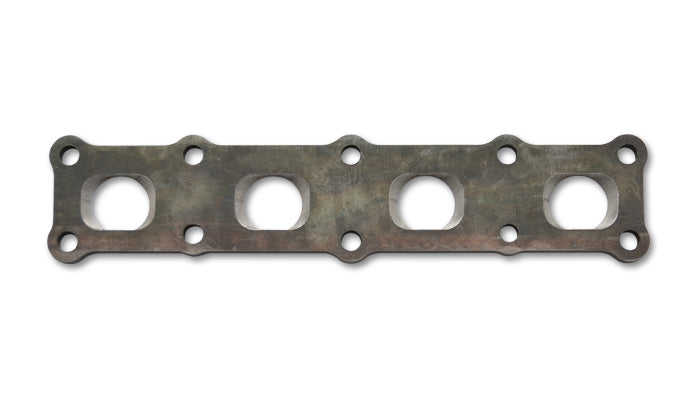 Mild Steel Manifold Flange for Toyota 2JZ Motor, 1/2in Thick