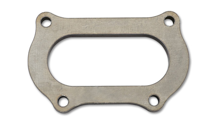Mild Steel Manifold Flange for K24 Motor in 12+ Honda Civic Si, 1/2in Thick
