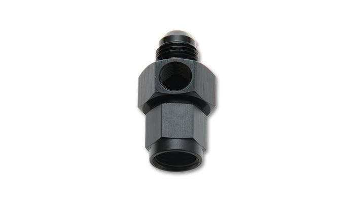 -8AN Male to -8AN Female Union Adapter Fitting with 1/8in NPT Port