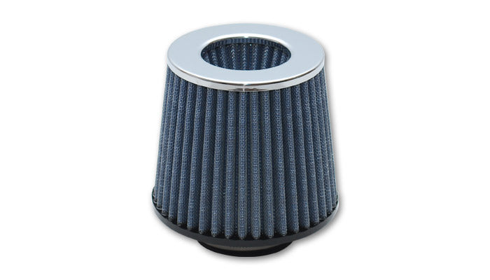 Open Funnel Performance Air Filter (2.5in Inlet I.D.) - Chrome Cap