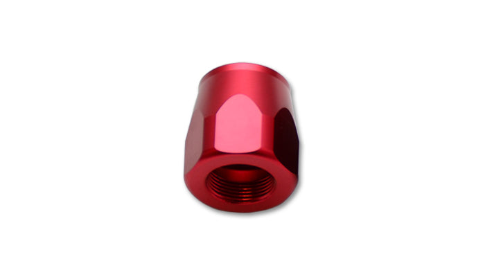 Hose End Socket, Size: -6AN, Color: Red