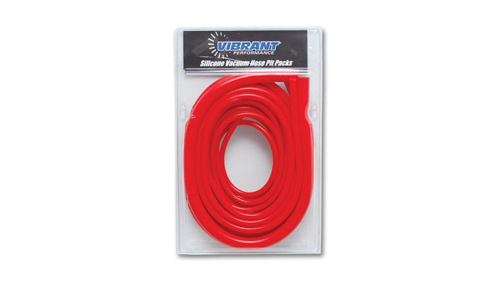 Silicone Vacuum Hose Pit Kit - Red