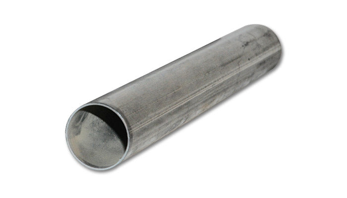 3.5in O.D. 304 Stainless Steel Straight Tubing - 5 foot length