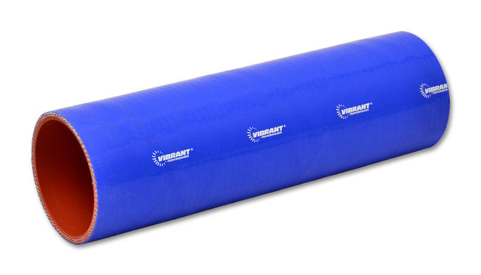 4 Ply Silicone Sleeve Coupler, 2in ID x 12in - Blue