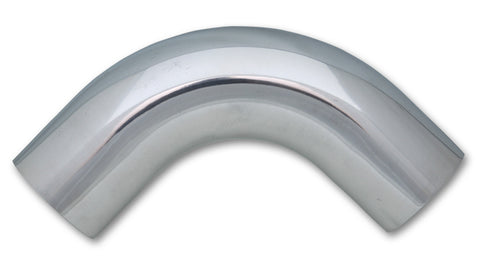 5in O.D. Aluminum 90 Degree Bend - Polished