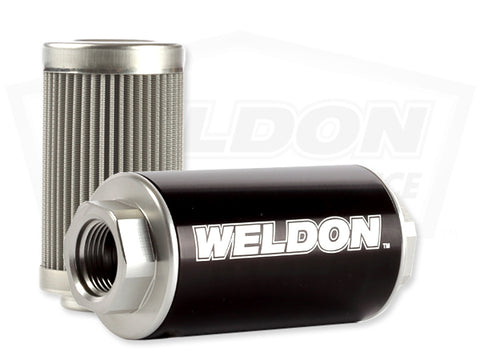 Weldon High Performance -12 ORB 10 Micron Stainless Steel Filter Assembly