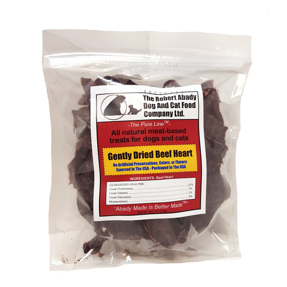 Abady Gently Dried Beef Heart