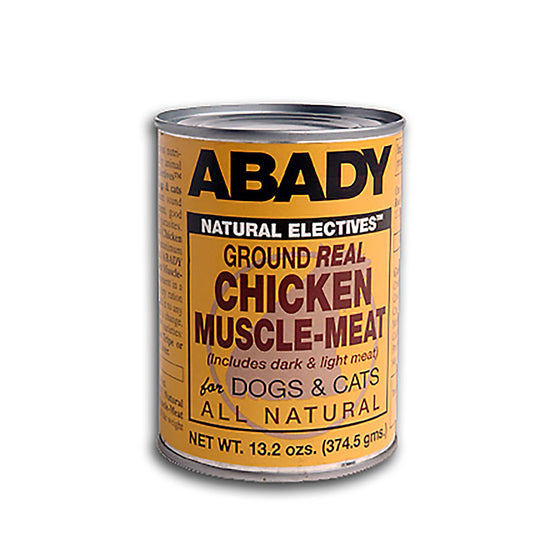 Abady Natural Electives Ground Real Chicken Muscle-Meat