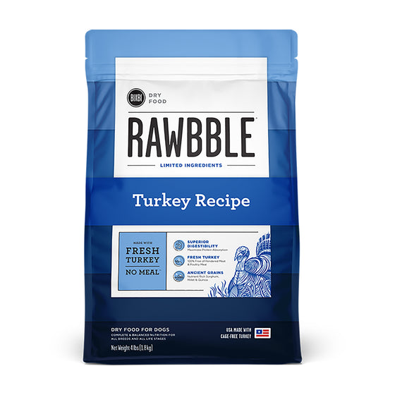 Rawbble Ancient Grain Turkey Recipe