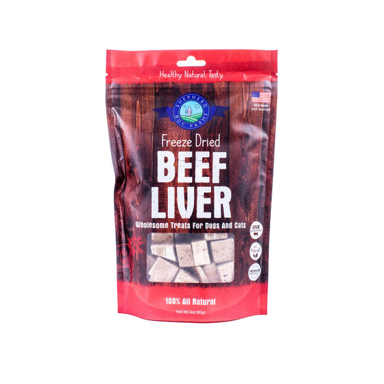 Shepherd Boy Farms - Freeze Dried Beef Liver
