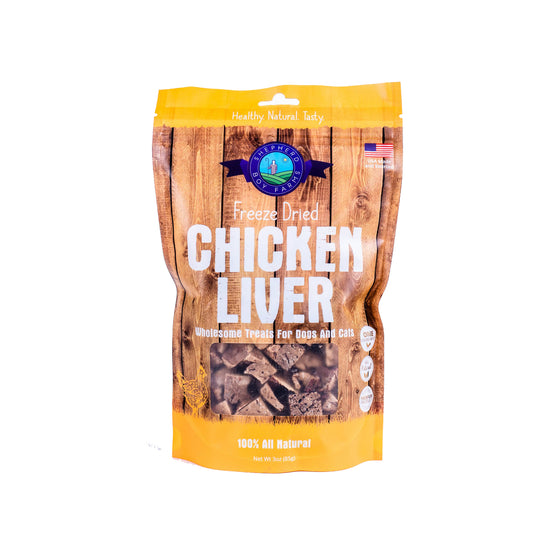 Shepherd Boy Farms - Freeze Dried Chicken Liver