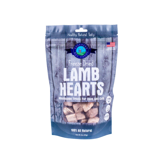Shepherd Boy Farms - Freeze Dried Lamb Hearts