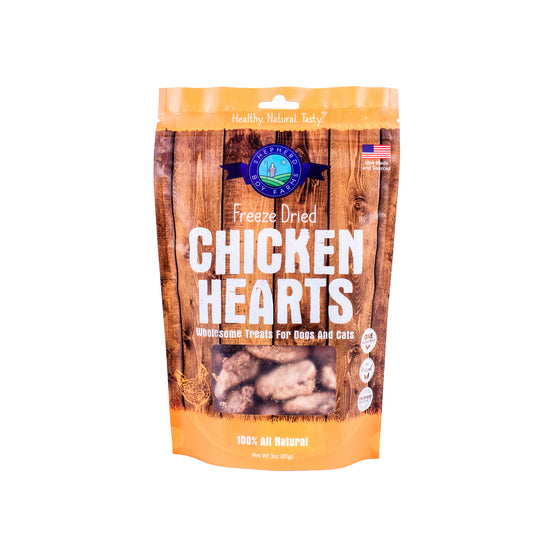 Shepherd Boy Farms - Freeze Dried Chicken Hearts
