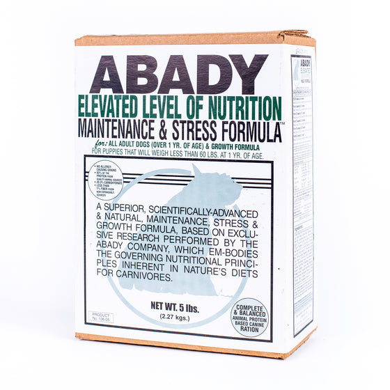 Abady Elevated Level Formula For Maintenance & Stress