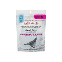 Mosaic - Quail Bars Pomegranate & Apple Exotic Treats