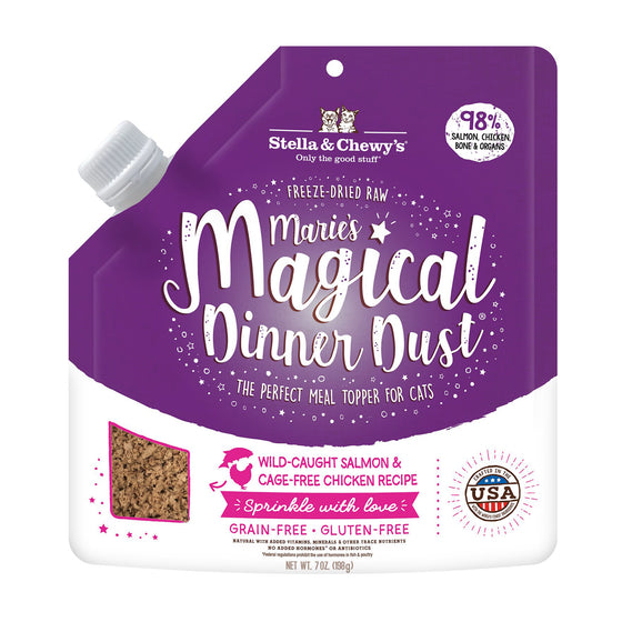 Stella & Chewy's - Marie's Magical Cat Dinner Dust Salmon & Chicken