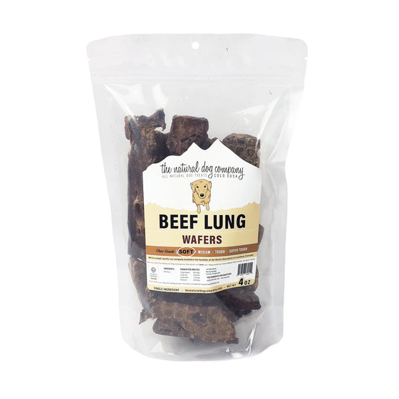 Natural Dog Company - Beef Lung Wafers