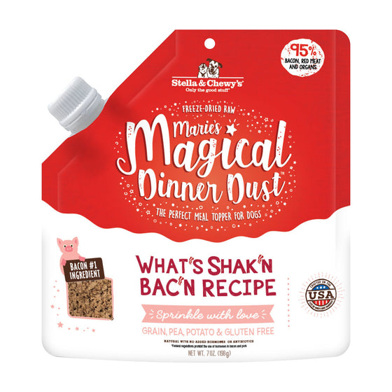 Stella & Chewy's - Marie's Magical Dog Dinner Dust What's Shak'n Bac'n Recipe