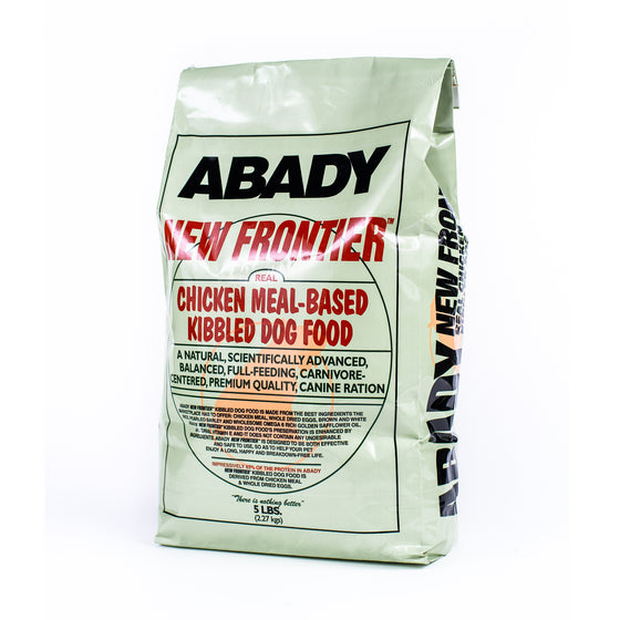 Abady New Frontier for Dogs