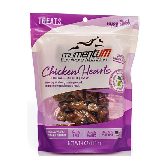 Momentum Freeze-Dried Chicken Hearts