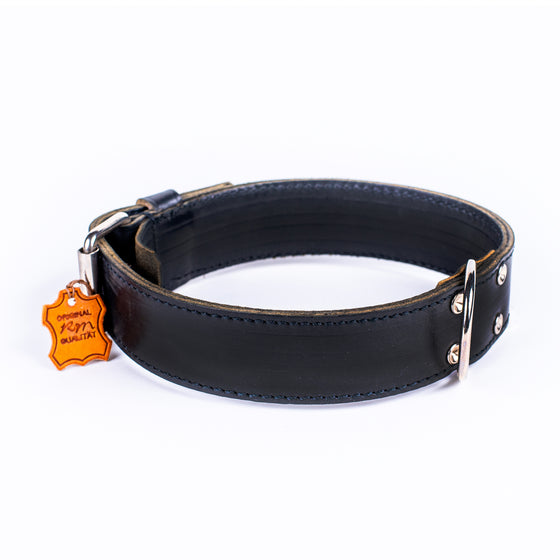 German Leather Collar - Large