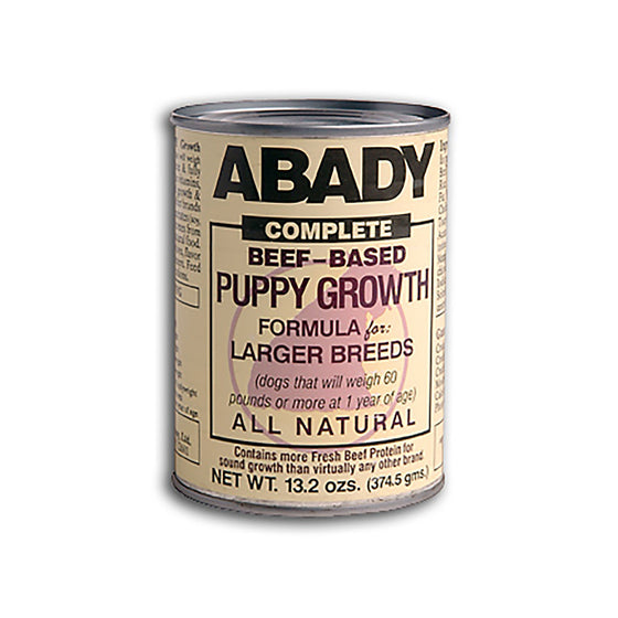 Abady Complete Beef-Based Puppy Growth for Larger Breeds