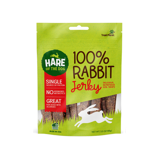 Hare of the Dog - 100% Rabbit Jerky