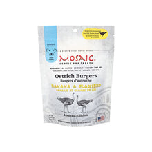 Mosaic - Ostrich Burgers Banana & Flaxseed Exotic Treats