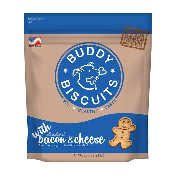 Buddy Biscuits - Bacon & Cheese Crunchy Treats