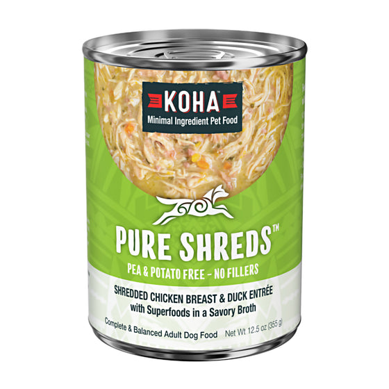 Koha Pure Shreds Chicken Breast & Duck Entrée