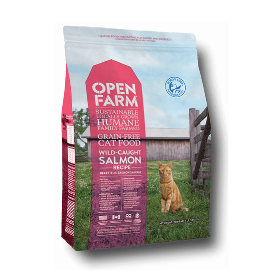 Open Farm Wild Caught Salmon for Cats
