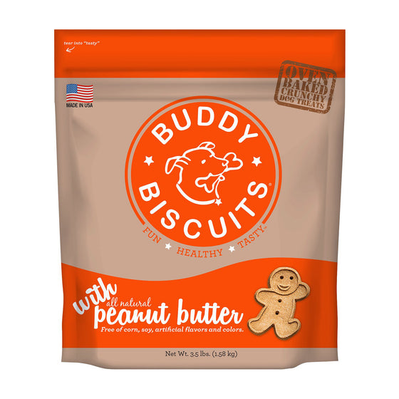 Buddy Biscuits - Peanut Butter Crunchy Treats