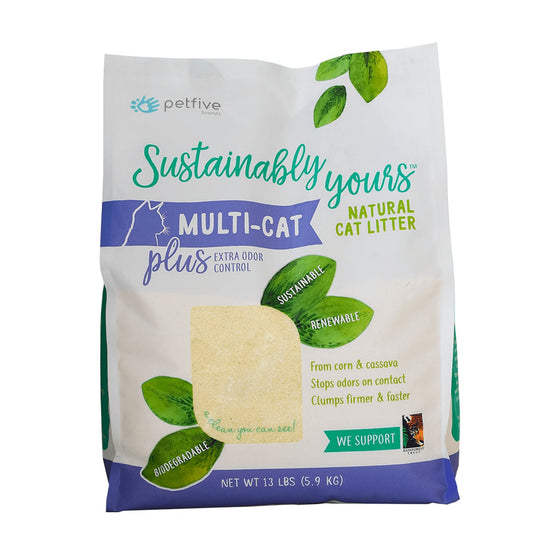 Sustainably Yours - Natural Multi-Cat Litter
