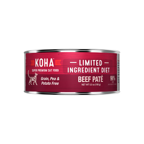 Koha LID Beef Pate 96% for Cats