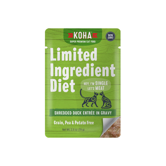 Koha Shredded LID Duck Pouch or Can