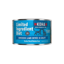 Koha Shredded LID Lamb Pouch or Can