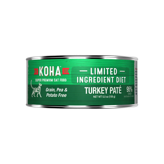 Koha LID Turkey Pate 96% for Cats