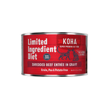 Koha Shredded LID Beef Pouch or Can
