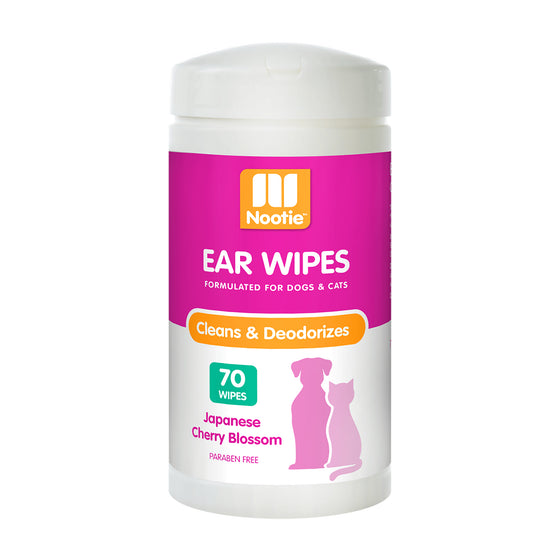 Nootie Ear Wipes Japanese Cherry Blossom