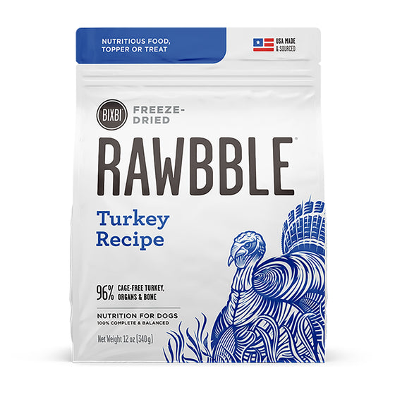Rawbble Freeze-Dried Turkey