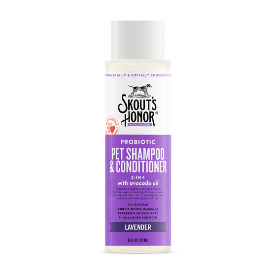 Skout's Honor Lavender Shampoo & Conditioner