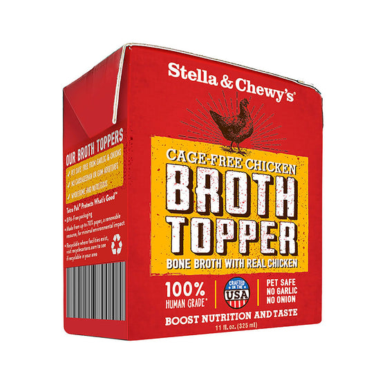 Stella & Chewy's - Broth Toppers Cage-Free Chicken